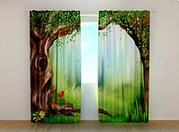 """Фотошторы """"Детский пейзаж"""" 250 х 260 см фото штори с рисунком шторы в детскую"""
