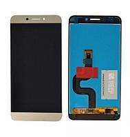 LCD екран + Touchscreen (Модуль) для Leeco S3 X622 Золотий