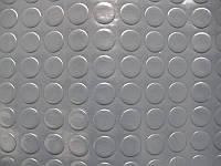 Автолинолеум на метраж Ширина 1,8 м Сіра Монетка Туреччина