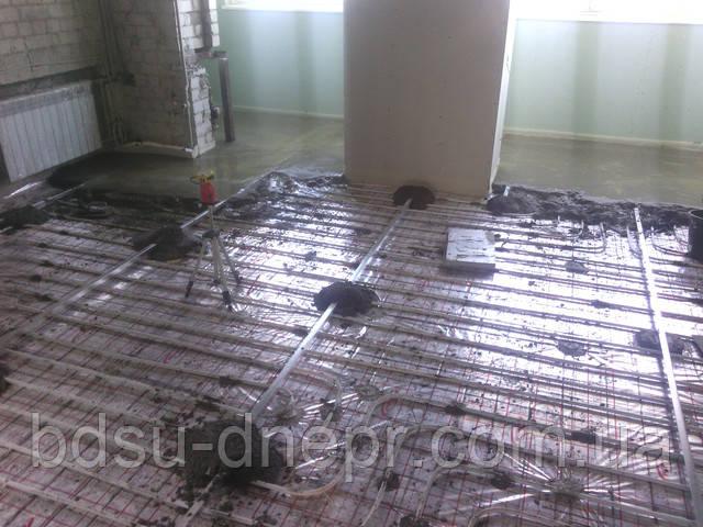 Стяжка пола в квартире и в частном доме в Днепропетровске