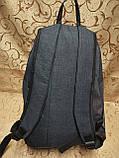 Рюкзак PUMA мессенджер с кожаным дном спортивный городской стильный ОПТ, фото 4