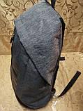 Рюкзак PUMA мессенджер с кожаным дном спортивный городской стильный ОПТ, фото 3