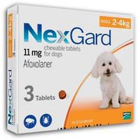 Нексгард (таблетки для собак) 2-4 кг
