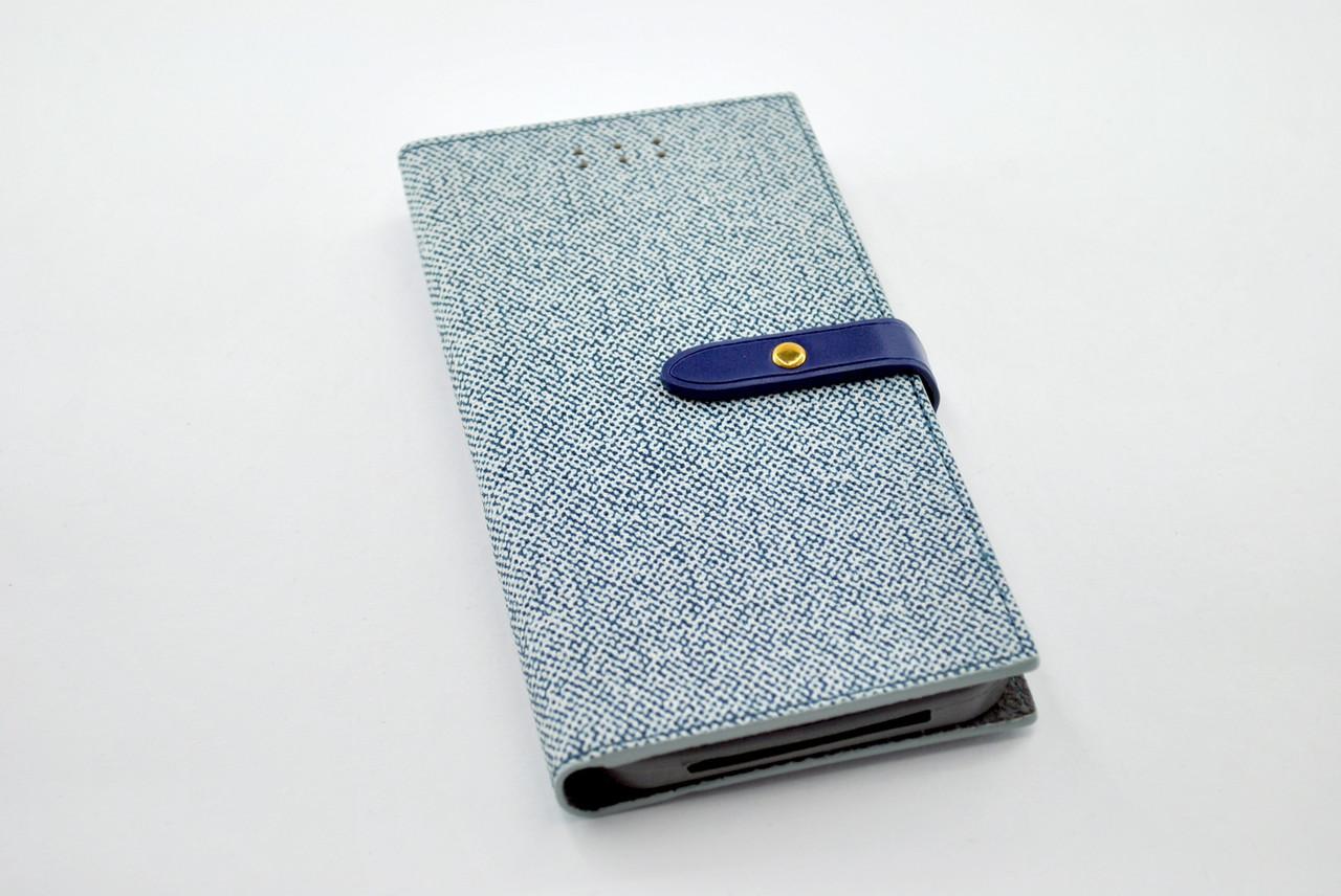 """Чехол-книжка 4you BELT 4,5""""- 4,8"""" blue универсальная ТОП Продаж! Новый цвет!!!"""