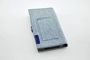 """Чехол-книжка 4you BELT 4,5""""- 4,8"""" blue универсальная ТОП Продаж! Новый цвет!!!, фото 2"""
