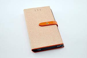 """Чехол-книжка 4you BELT 4,9""""- 5,3"""" orange универсальная , фото 2"""