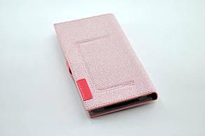 """Чехол-книжка 4you BELT 4""""- 4,4"""" pink универсальная ТОП Продаж! , фото 2"""
