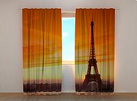 "Фотошторы ""Эйфелева башня 4"" 250 х 260 см фото шторы штори"