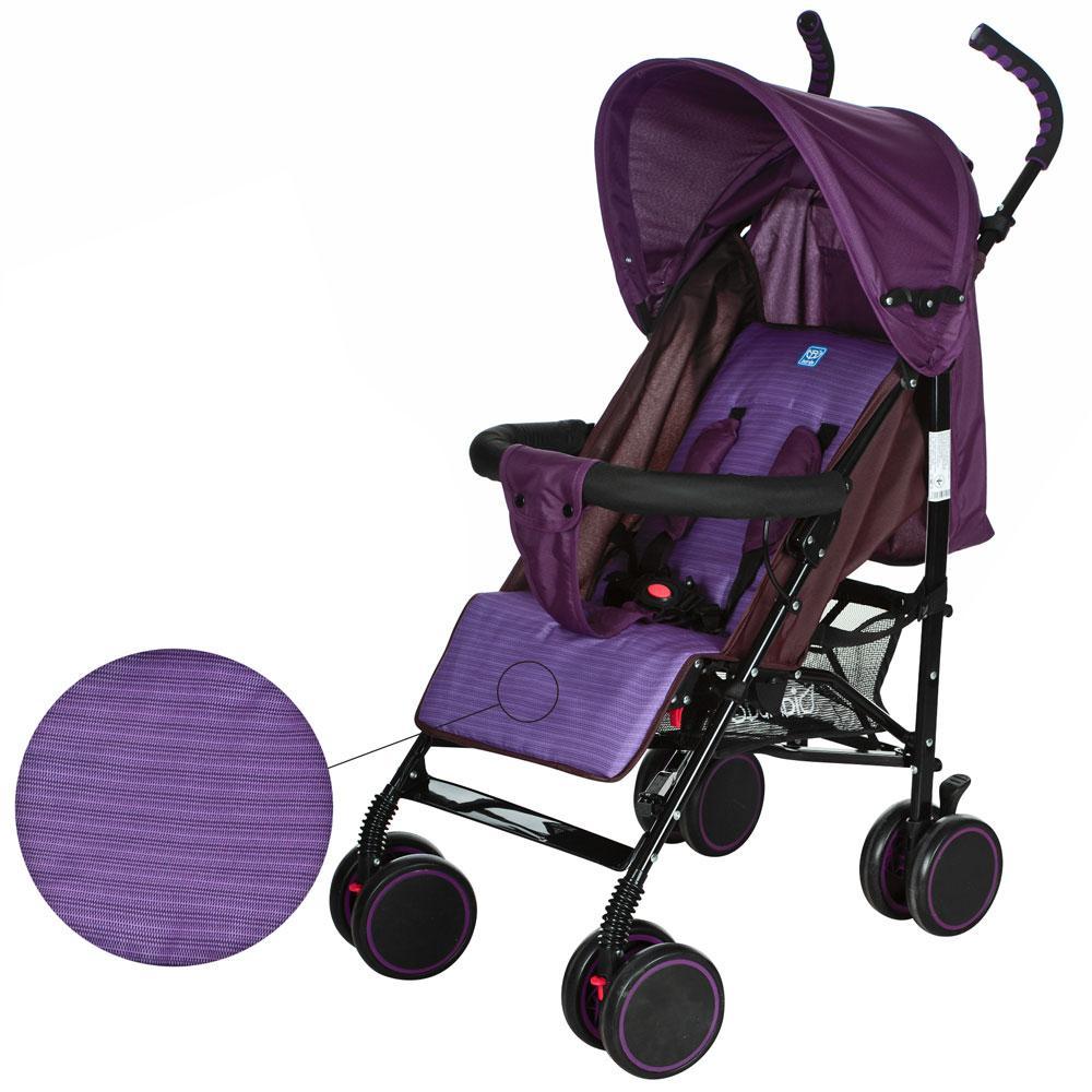 Коляска детская прогулочная M 3426-1 фиолетвая