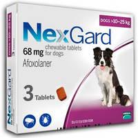 Нексгард (таблетки для собак) 10-25 кг