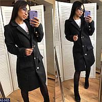 Женское стильное кашемировое пальто , фото 1