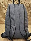 Рюкзак nike мессенджер с кожаным дном спортивный городской стильный ОПТ, фото 4