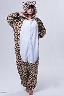 ✅ Пижама Кигуруми Леопардовый медведь S (на рост 148-158см)
