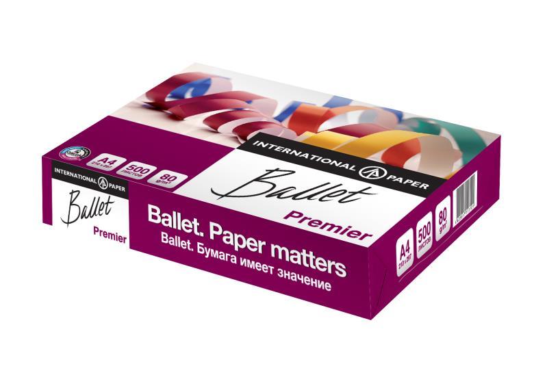 Бумага офисная Ballet Premier А3 класc A 80 г/м2  500 листов