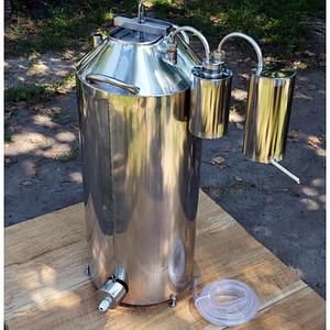 Автоклав огневой, электрический 60 литров, сухопарник, дистиллятор