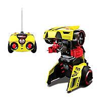 Автомодель-трансформер на РУ Street Troopers PT808 (жёлтый)  81108 yellow ТМ: Maisto