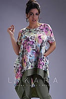 Женский костюм батал 50-62, фото 1