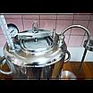Автоклав электрический, огневой 30л (21 банка 0,5л) + Сухопарник нерж + Дистиллятор., фото 3