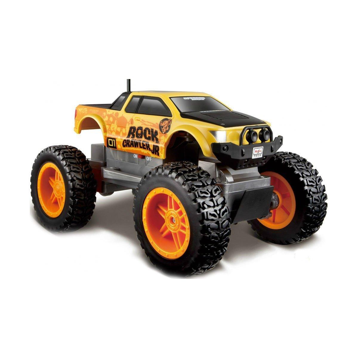 Автомодель на радиоуправлении  Rock Crawler Jr, желтый 81162 yellow ТМ: Maisto