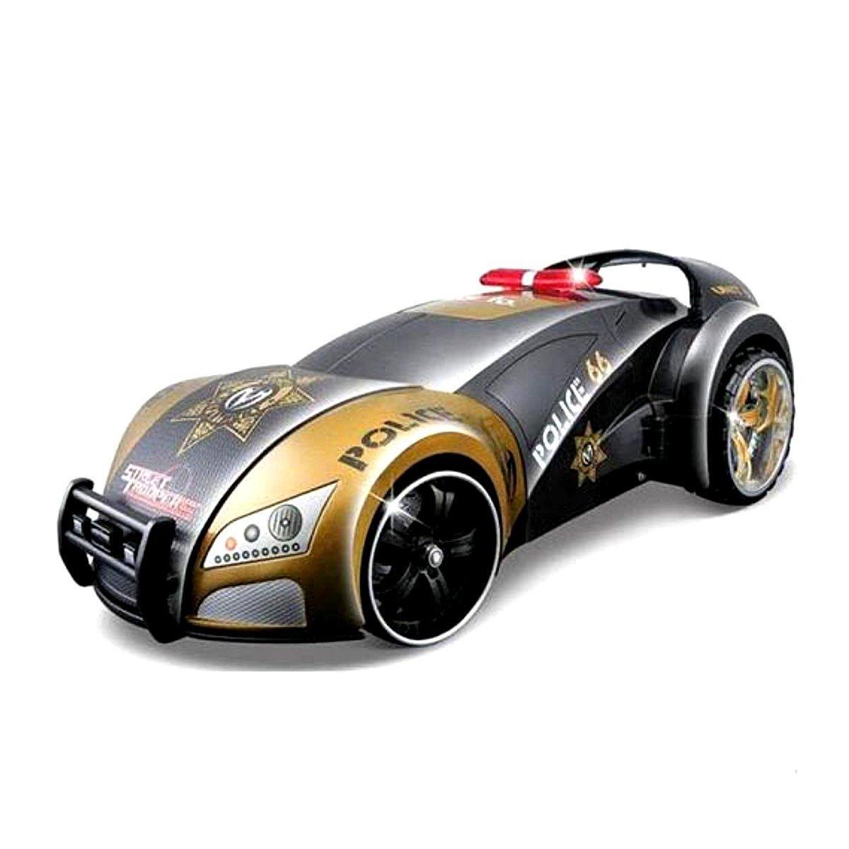 Автомодель-трансформер на РУ Street Troopers Project (золотисто-чёрный)  81107 gold/black     ТМ: Maisto