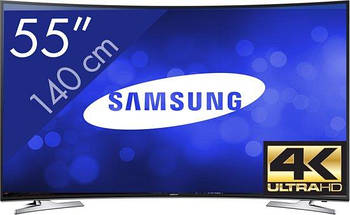 Телевизор Samsung UE55HU7100 (800Гц, Ultra HD 4K, Smart, Wi-Fi, изогнутый экран)