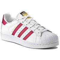 Женские кроссовки Adidas Superstar Foundation Оригинал