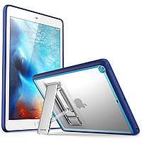 "Чехол бампер i-Blason Halo Series Slim Case для Apple iPad 9.7"" 2018 / 2017 Frost Navy Blue"