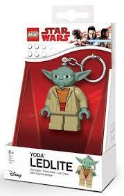 Lego Star Wars LGL-KE11 Yoda Брелок-ліхтарик Йода (Лего Старварс Брелок-фонарик Йода)