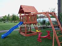 Обустройство детской площадки: игровой комплекс
