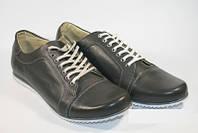 Кожанные туфли кроссовки спорт