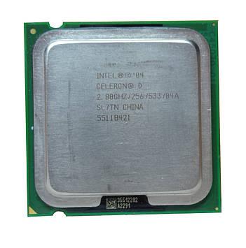 Процессор Intel Celeron D 335 2.80GHz/256/533 (SL7TN) s775, tray
