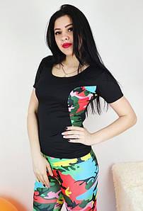Женская футболка милитари с коротким рукавом для спорта 42-48 р