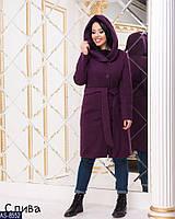 Женское стильное кашемировое пальто р.50,52,54,56, фото 1