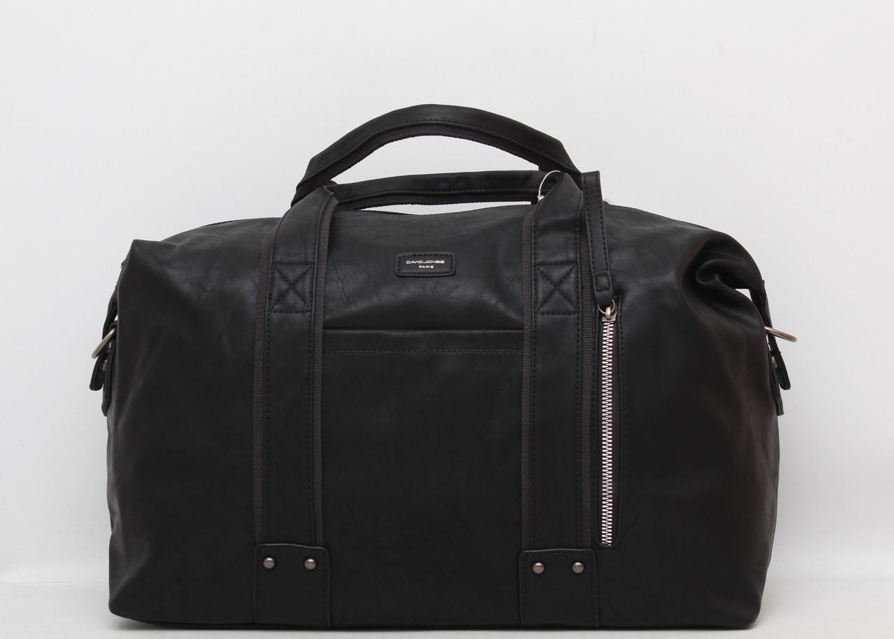 266540b85808 Мужская дорожная сумка David Jones в дорогу кожаная (кожа искусственная) Дэвид  Джонс