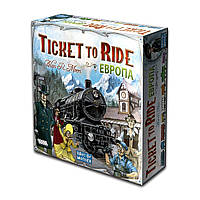Ticket to Ride: Европа (новая версия) 1032 ТМ: Hobby World