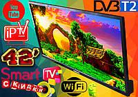 "Телевизор 42"" Samsung SmartTV LED! FullHD, IPTV, Android, T2, WIFI, USB КОРЕЯ!"