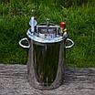 Автоклав на 20 литров с дистиллятором. Нержавейка, фото 3