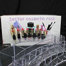 Подставка 7012 подставка под косметику, аксессуары, помады, блески, фото 3