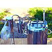 Автоклав огневой 35 литров с дистиллятором и сухопарником из нержавейки, фото 2