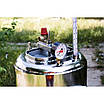 Автоклав огневой 35 литров с дистиллятором и сухопарником из нержавейки, фото 3