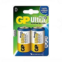 Батарейка GP Ultpa+ Alkaline, 13AUP, LR20, D  ТМ: GP