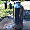 Автоклав огневой, электрический 50 литров, сухопарник, дистиллятор, фото 3