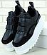 Женские Кроссовки STELLA MCCARTNEY Eclypse Platform Sneakers, Стелла Маккартни Черные, фото 2