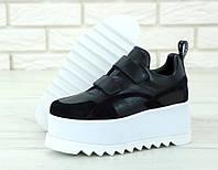 Женские Кроссовки STELLA MCCARTNEY Eclypse Platform Sneakers, Стелла Маккартни Черные