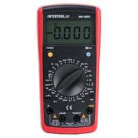 Мультиметр цифровой CAT III-600В/CAT II-1000В INTERTOOL MD-0002, фото 1