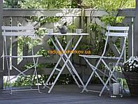 Набор складной металлической мебели для сада балкона дома отдыха релакса,новый