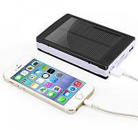 Внешний аккумулятор Power Bank на солнечных батареях Solar Charger Protector Installed 20000 mAh