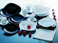 Сервиз столовый LUMINARC CARINE BLACK&WHITE, 30 предметов