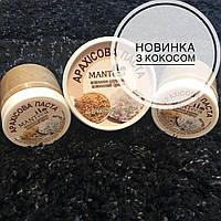 """Арахисовая паста с кокосовой стружкой и кокосовым сахаром """"MANTECA"""", 100г"""