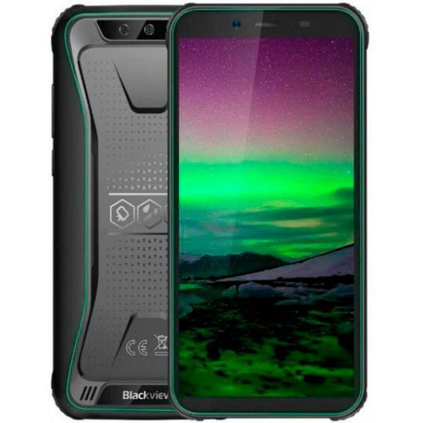 Защищенный смартфон Blackview BV5500 Green 2/16gb MediaTek MT6580P 4400 мАч